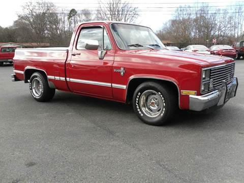 1983 Chevrolet C/K 10 Series for sale at Brown's Used Auto in Belmont NC