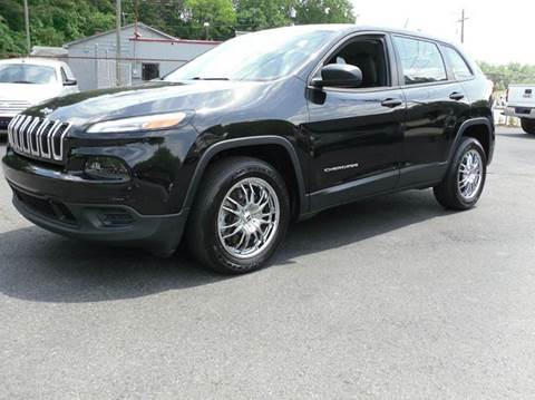 2014 Jeep Cherokee for sale at Brown's Used Auto in Belmont NC