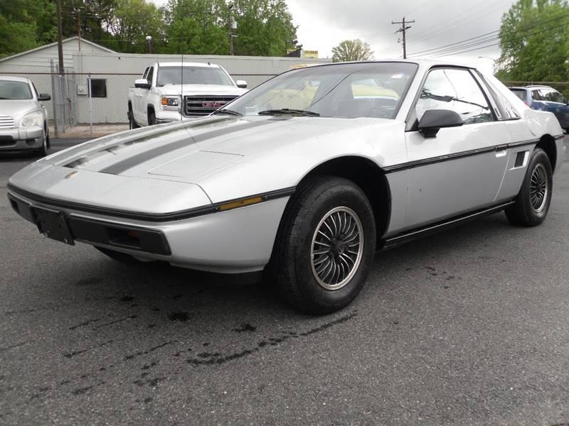 1985 Pontiac Fiero Sport 2dr Coupe   Belmont NC