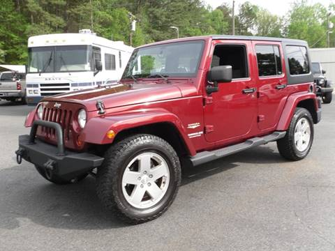2011 Jeep Wrangler Unlimited for sale in Belmont, NC