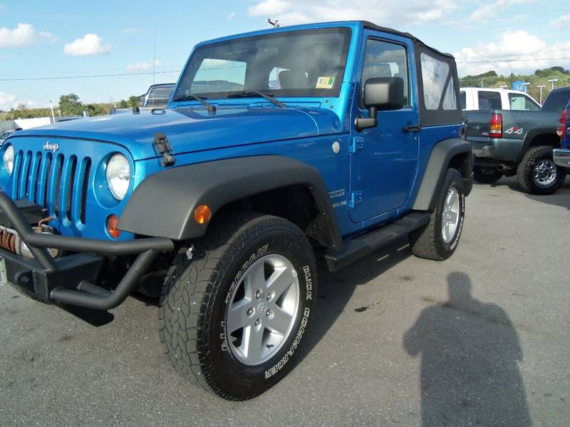 2010 Jeep Wrangler For Sale At MasterTech Automotive In Staunton VA