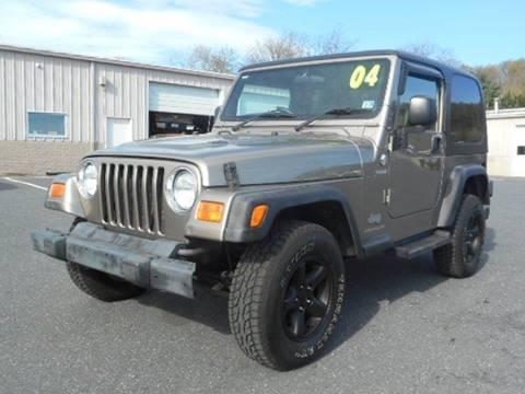 2004 Jeep Wrangler Sport for sale in Staunton, VA