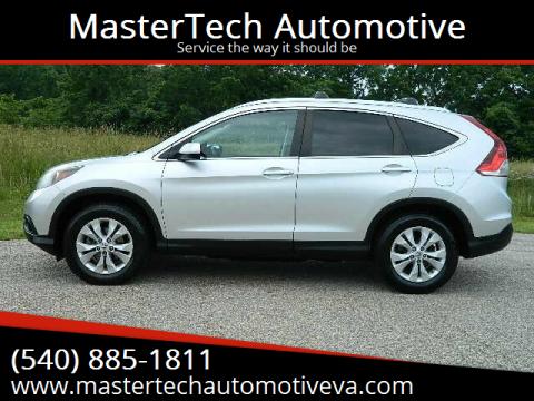 2013 Honda CR-V for sale at MasterTech Automotive in Staunton VA