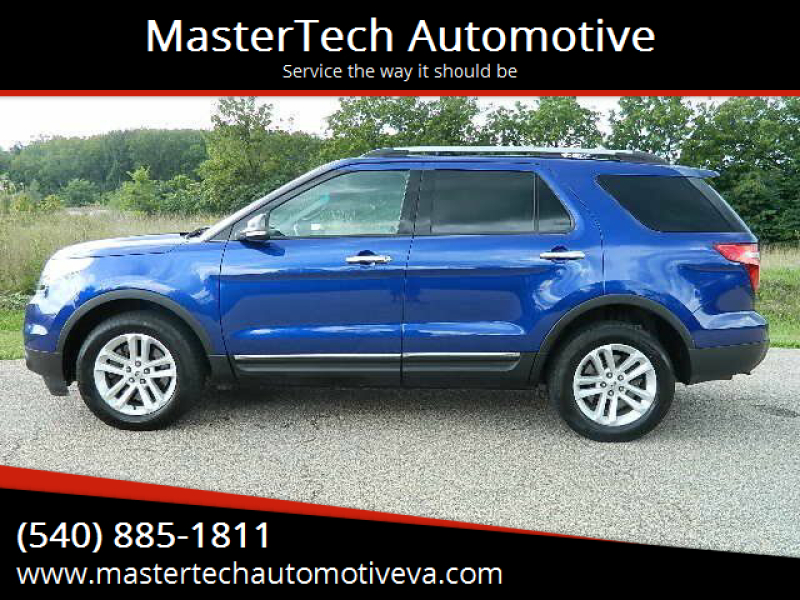 2015 Ford Explorer for sale at MasterTech Automotive in Staunton VA