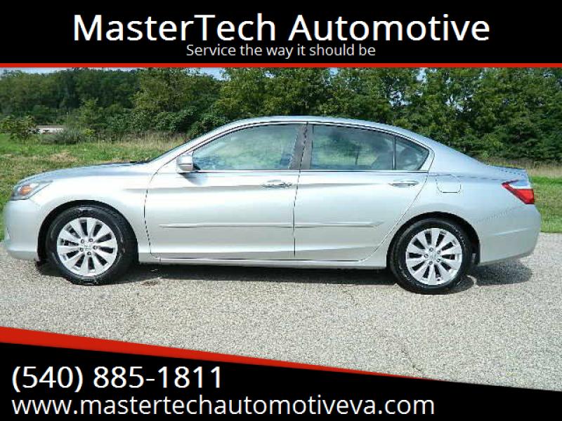 2015 Honda Accord for sale at MasterTech Automotive in Staunton VA