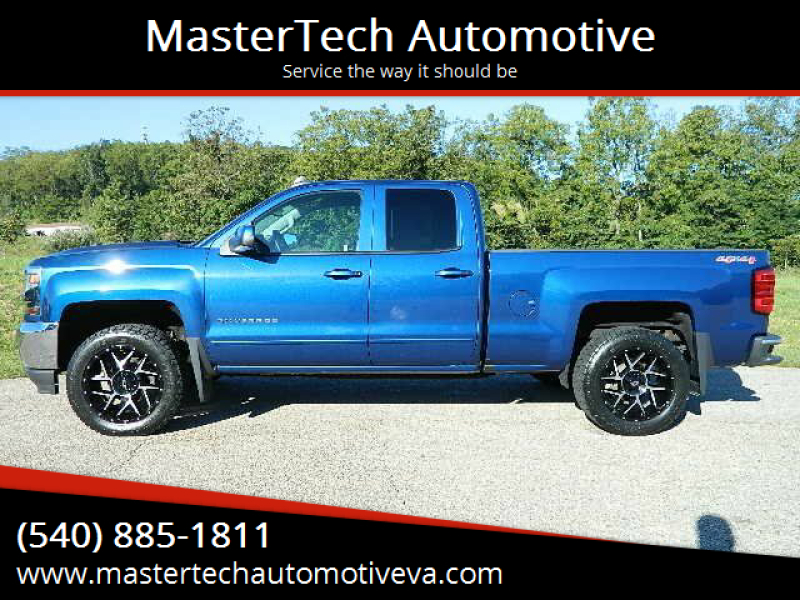 2017 Chevrolet Silverado 1500 for sale at MasterTech Automotive in Staunton VA