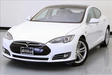 2014 Tesla Model S for sale in Lewisville, TX