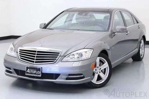 2012 Mercedes-Benz S-Class for sale in Lewisville, TX