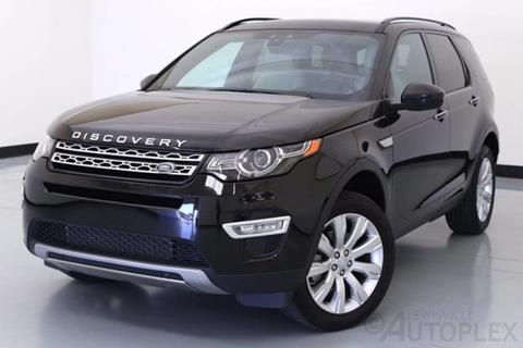 2016 Land Rover Discovery Sport for sale in Lewisville, TX