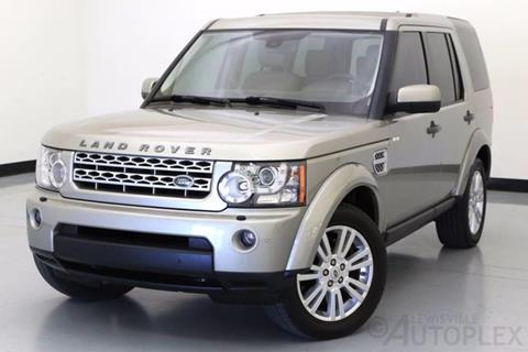2012 Land Rover LR4 for sale in Lewisville, TX