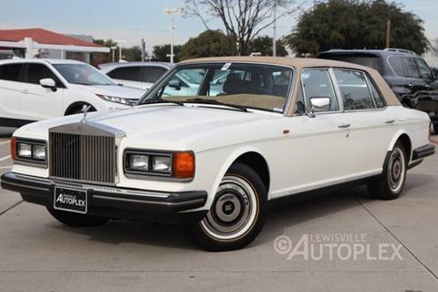 1986 Rolls Royce Silver Spur For Sale In Lewisville TX