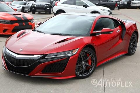 2017 Acura Nsx For Sale >> 2017 Acura Nsx For Sale In Lewisville Tx