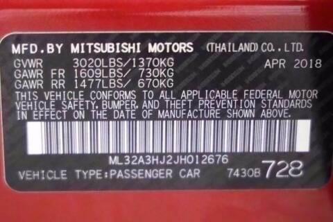 2018 Mitsubishi Mirage