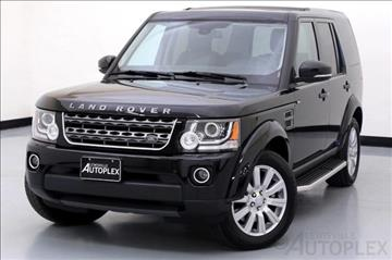 2016 Land Rover LR4 for sale in Lewisville, TX
