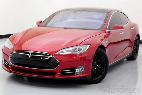 2015 Tesla Model S for sale in Lewisville, TX