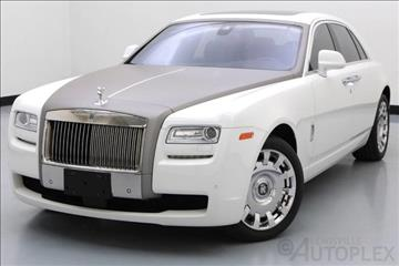 2013 Rolls-Royce Ghost for sale in Lewisville, TX