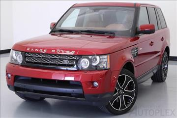 2013 Land Rover Range Rover Sport for sale in Lewisville, TX