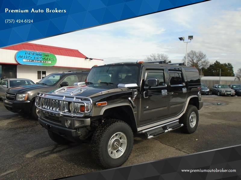 2005 Hummer H2 4wd 4dr Suv In Virginia Beach Va Premium Auto Brokers