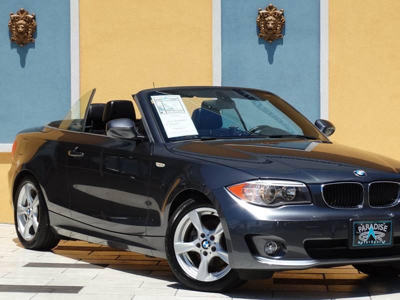 2013 BMW 1 Series 128i 2dr Convertible SULEV - Lexington KY
