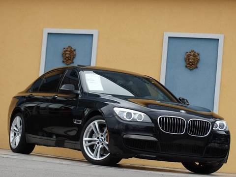 2015 BMW 7 Series for sale at Paradise Motor Sports LLC in Lexington KY