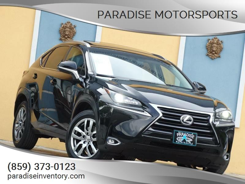 Captivating 2015 Lexus NX 200t AWD 4dr Crossover   Lexington KY