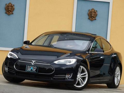 2015 Tesla Model S for sale at Paradise Motor Sports LLC in Lexington KY