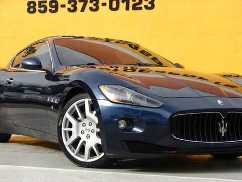 2009 Maserati GranTurismo for sale at Paradise Motor Sports LLC in Lexington KY