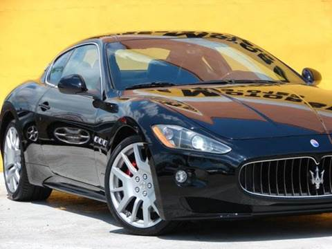 2011 Maserati GranTurismo for sale at Paradise Motor Sports LLC in Lexington KY