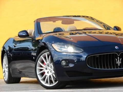 2010 Maserati GranTurismo for sale at Paradise Motor Sports LLC in Lexington KY