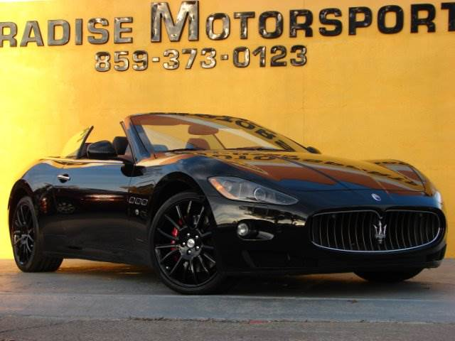 2011 Maserati GranTurismo for sale at Paradise Motor Sports LLC in Lexington KY