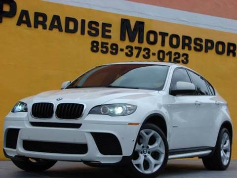 2014 BMW X6 for sale at Paradise Motor Sports LLC in Lexington KY