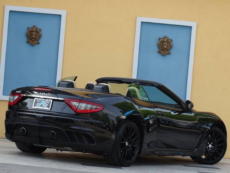 2013 Maserati GranTurismo for sale at Paradise Motor Sports LLC in Lexington KY