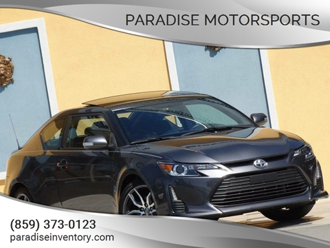 Paradise motorsports used cars lexington ky dealer 2015 scion tc 26750 miles miles special 13700 solutioingenieria Image collections