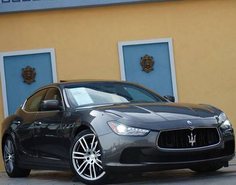 2014 Maserati Ghibli for sale at Paradise Motor Sports LLC in Lexington KY