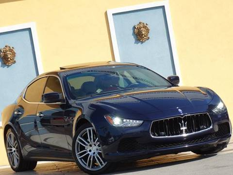 2015 Maserati Ghibli for sale at Paradise Motor Sports LLC in Lexington KY