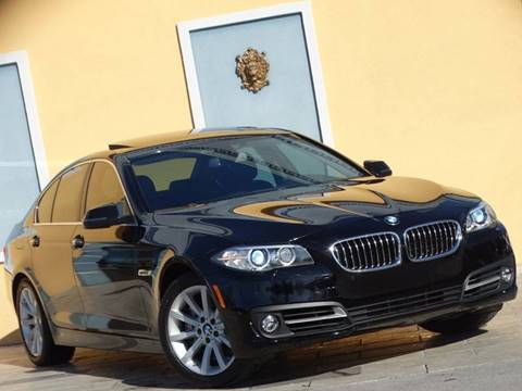 2015 BMW 5 Series for sale at Paradise Motor Sports LLC in Lexington KY