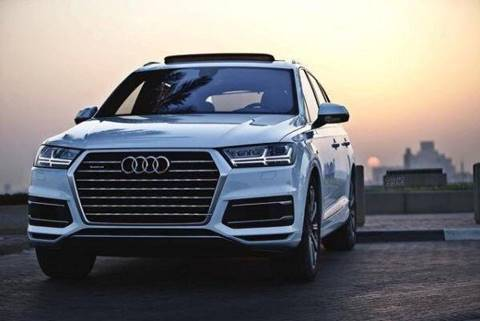 2017 Audi Q7 for sale at Paradise Motor Sports LLC in Lexington KY