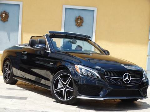 2018 Mercedes-Benz C-Class for sale at Paradise Motor Sports LLC in Lexington KY