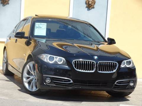 2016 BMW 5 Series for sale at Paradise Motor Sports LLC in Lexington KY