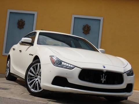 2016 Maserati Ghibli for sale at Paradise Motor Sports LLC in Lexington KY