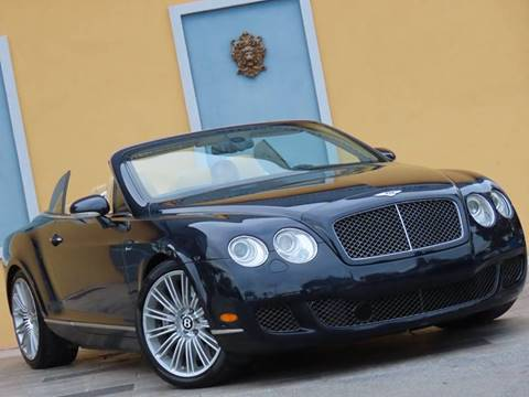 2009 Bentley Continental for sale at Paradise Motor Sports LLC in Lexington KY