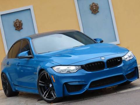 2016 BMW M3 for sale at Paradise Motor Sports LLC in Lexington KY
