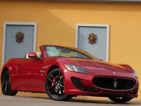 2015 Maserati GranTurismo for sale at Paradise Motor Sports LLC in Lexington KY