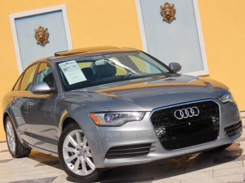 2013 Audi A6 for sale at Paradise Motor Sports LLC in Lexington KY