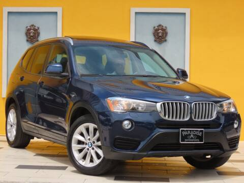 2017 BMW X3 for sale at Paradise Motor Sports LLC in Lexington KY