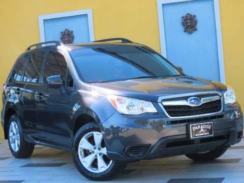 2016 Subaru Forester for sale at Paradise Motor Sports LLC in Lexington KY