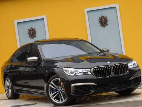 2019 BMW 7 Series for sale at Paradise Motor Sports LLC in Lexington KY