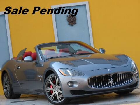 2016 Maserati GranTurismo for sale at Paradise Motor Sports LLC in Lexington KY