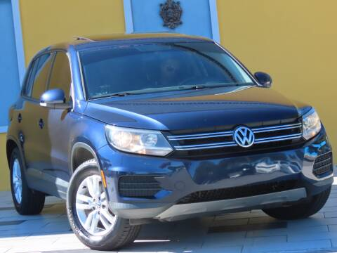 2013 Volkswagen Tiguan for sale at Paradise Motor Sports LLC in Lexington KY