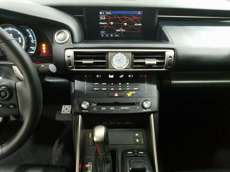 2015 Lexus IS 250 AWD Crafted Line 4dr Sedan - Lexington KY